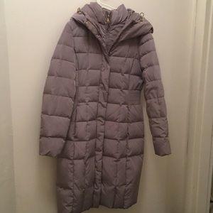 Cole Haan bib insert down winter coat